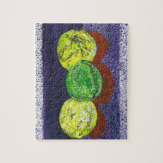 Two Lemons and a Lime Puzzle With Gift Box