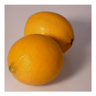 Two Lemons Poster