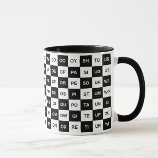 Two letter words (Intl version) Mug
