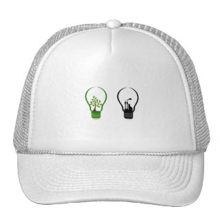 two lightbulbs one eco one black city.png hats