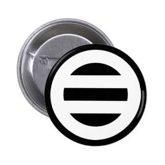 Two lines,Divided into seven 6 Cm Round Badge