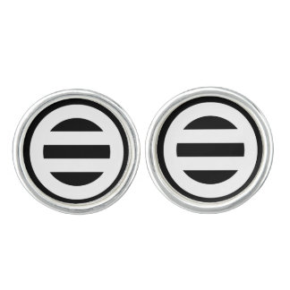 Two lines,Divided into seven Cufflinks