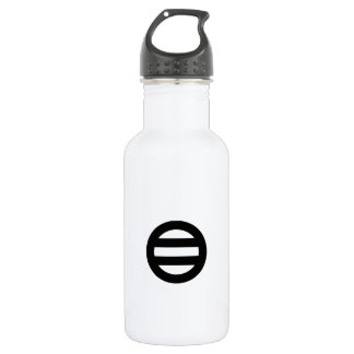 Two lines,Divided into seven 532 Ml Water Bottle