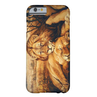 Two Lion couple Barely There iPhone 6 Case