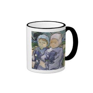 Two Little Girls, 1890 Mug