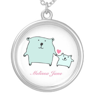 Two Little Love Bears Necklace