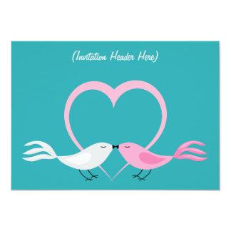 Two Little Lovebirds Multi Purpose Invitation