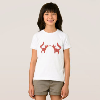 Two little orange foxes T-Shirt