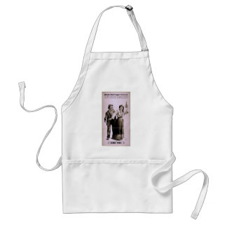 Two Little Vagrants Ladies First Retro Theater Aprons
