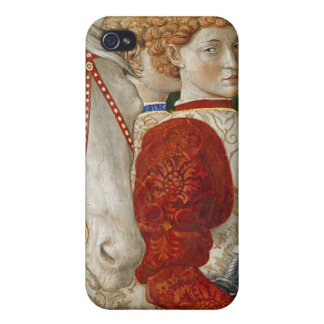 Two Liveried Attendants and the head of Lorenzo Cover For iPhone 4