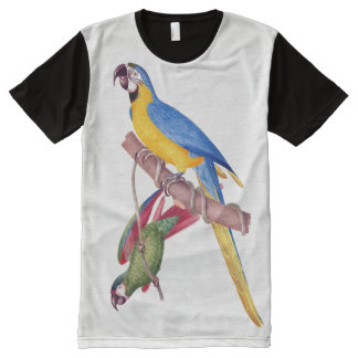 Two Macaw Parrot Birds Animals T-Shirt