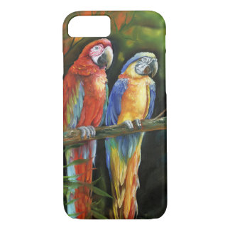 Two Macaws iPhone 7 Case