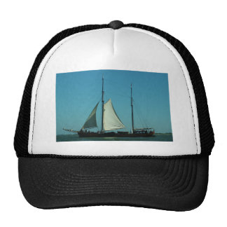 Two masted sailing barge cap