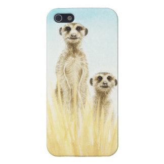 Two Meerkats Case For iPhone 5/5S