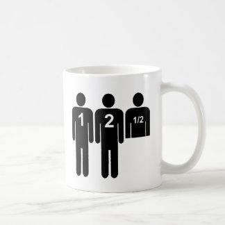 Two Men + 1/2 Coffee Mug