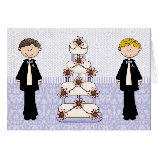 Two Men and A Wedding Cake