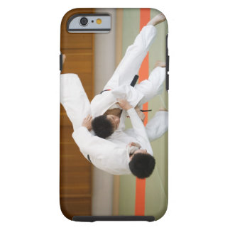 Two Men Competing in a Judo Match 2 Tough iPhone 6 Case