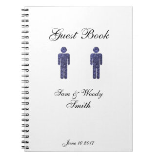 Two Men Guest Book