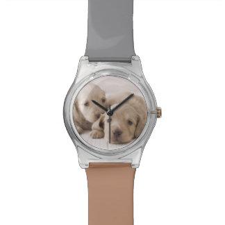 Two Miniature Dachshund Wrist Watches