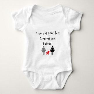 Two mommies tshirts