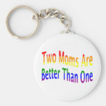 Two Moms Better (rainbow)