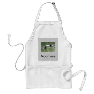 Two Moorhens Standard Apron