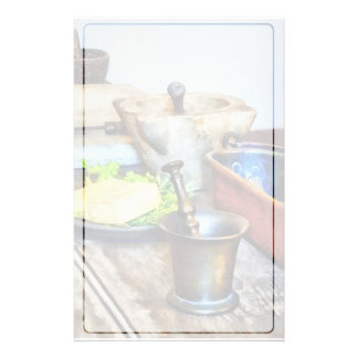 Two Mortar and Pestles in Kitchen Stationery