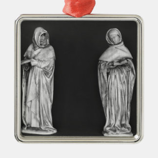 Two Mourners Christmas Ornament