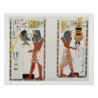 Two Murals from the Tombs of the Kings of Thebes, Poster
