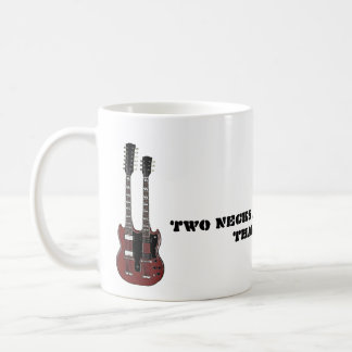 Two Necks are Better Than One Classic White Coffee Mug