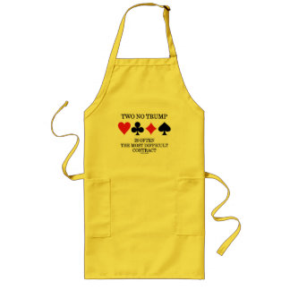 Two No Trump Is Often The Most Difficult Contract Long Apron