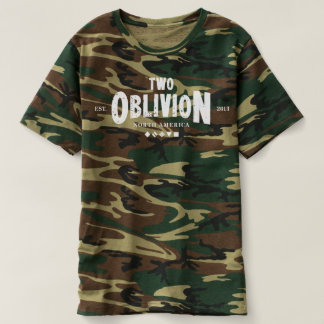 Two Oblivion 3rd Anniversary Camo T-Shirt