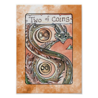 Two of Coins Poster