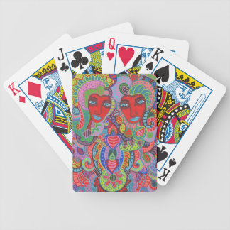Two of Hearts 3 Bicycle Playing Cards