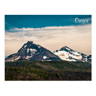 Two of Three Sisters Postcard