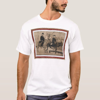 Two O'Keefe boys on donkeys (40040) T-Shirt