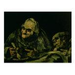 Two Old Men Eating Postcards