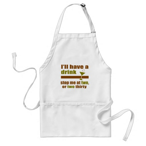 Two or Two Thirty Apron