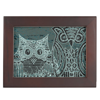Two owls Keepsake Box
