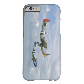 Two P51 Mustangs Flying By._WWII Planes Barely There iPhone 6 Case