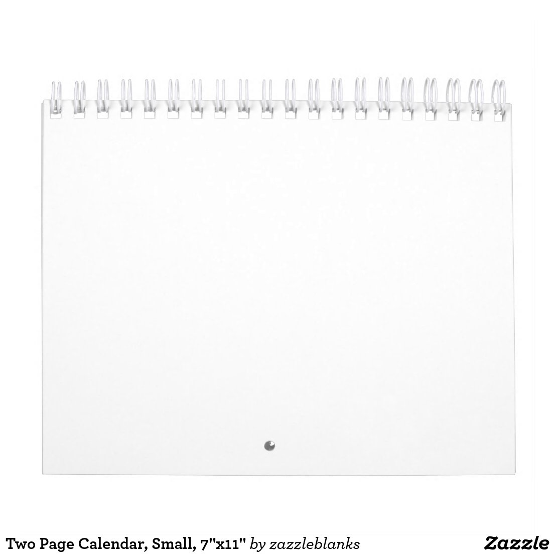 Two Page Calendar, Small