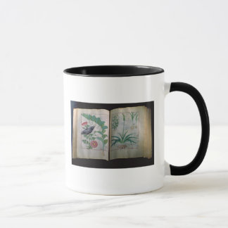Two pages depicting Rose and Garlic Mug