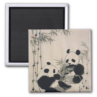 Two Pandas Magnets