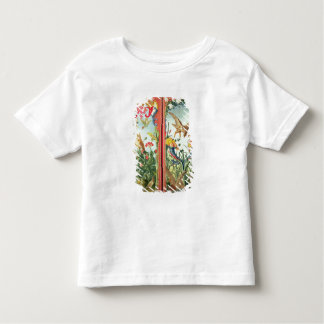 Two panels of carpet made into a folding toddler T-Shirt