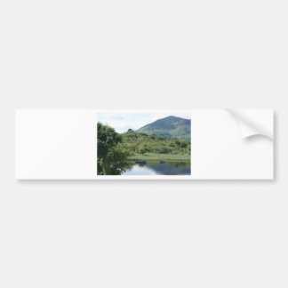 Two peaceful Canoes Bumper Sticker