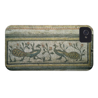 Two peacocks, decorative border detail from a mosa iPhone 4 Case-Mate cases