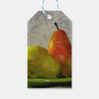 TWO PEARS GIFT TAGS