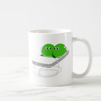 Two Peas In A Pod (Add Your Text) Coffee Mug