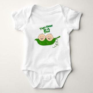 Two Peas in a Pod Baby Bodysuit
