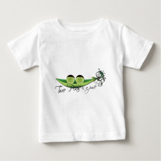 Two Peas In A Pod | boy twins Baby T-Shirt